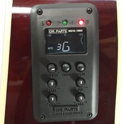 DR PARTS EQ400T - эквалайзер 4-х полосный с тюнером