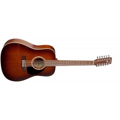 A&L 026548 - 12 Cedar Antique Burst (Made in Canada) - Акустическая 12-ти струнная гитара