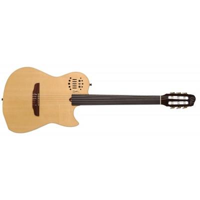 GODIN 019717 - MULTIAC NYLON FRETLESS (SA) Natural HG SF (Made in Canada) - Классическая гитара с подключением безладовая