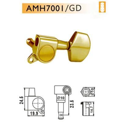 DR PARTS AMH7001/GD - колки на акустическую гитару