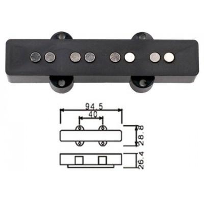 DR PARTS JPUB/BK - пассивный звукосниматель для бас гитары