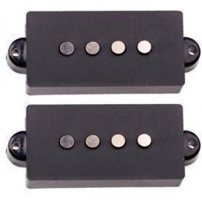 DR PARTS PPU/2/BK - набор пассивных звукоснимателей для Precision Bass