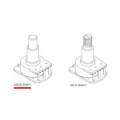 EMG CS VT SOL LH (evo1) - набор потенциометров громкость + тон, гладкие ручки (Solid Shaft), для левосторонней гитары