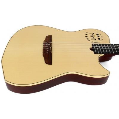 GODIN 004690 - MULTIAC NYLON (SA) Natural HG with bag (Made in Canada) - Классическая гитара с подключением