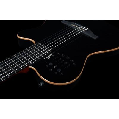 GODIN 032174 - ACS (SA) Cedar Black with Bag (Made in Canada) - Классическая гитара с подключением