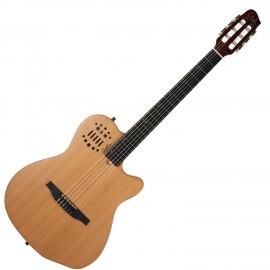 GODIN 032167 - ACS SLIM (SA) Cedar Natural SG with Bag (Made in Canada) - Классическая гитара с подключением