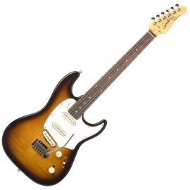 GODIN 033256 - Progression Vintage Burst Flame RN with Bag. Made in Canada