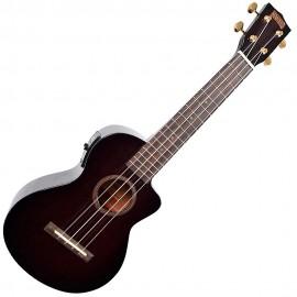 MAHALO MH2CEtbk - укулеле концертное с вырезом и подключением