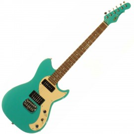 G&L FALLOUT (Belair Green, rosewood, Creme). № CLF 067627. Made in USA