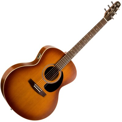 SEAGULL 032907 - Entourage Mini Jumbo Rustic QI (Made in Canada) - Акустическая гитара с подключением