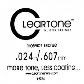 CLEARTONE Acoustic 024 br - струна для акустической гитары