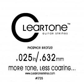 CLEARTONE Acoustic 025 br - струна для акустической гитары