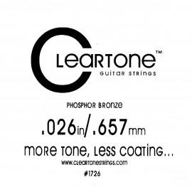 CLEARTONE Acoustic 026 br - струна для акустической гитары