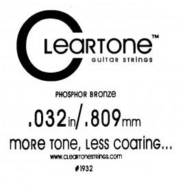 CLEARTONE Acoustic 032 br - струна для акустической гитары