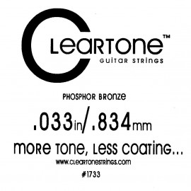 Струны CLEARTONE Acoustic 033 br