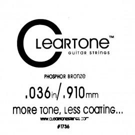 CLEARTONE Acoustic 036 br - струна для акустической гитары