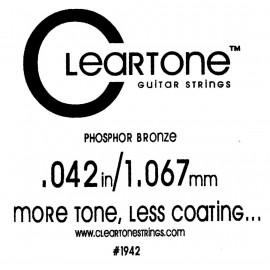 CLEARTONE Acoustic 042 br - струна для акустической гитары