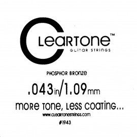 CLEARTONE Acoustic 043 br - струна для акустической гитары