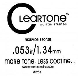 CLEARTONE Acoustic 053 br - струна для акустической гитары