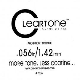 CLEARTONE Acoustic 056 br - струна для акустической гитары