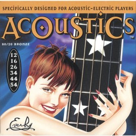 EVERLY ACOUSTICS 12-54 - струны для акустической гитары