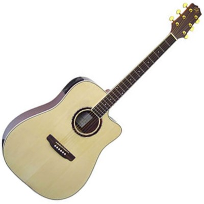 SX DG200CE+/NA - Электроакустическая гитара