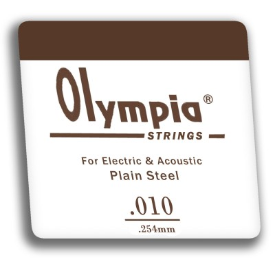 OLYMPIA 010 - струна для электро или акустической гитары