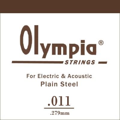 OLYMPIA 011 - струна для электро или акустической гитары