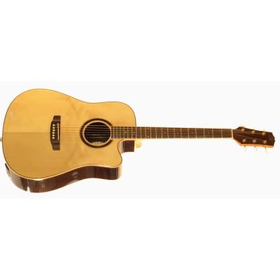 SX DG50CE+ - Акустическая гитара с подключением