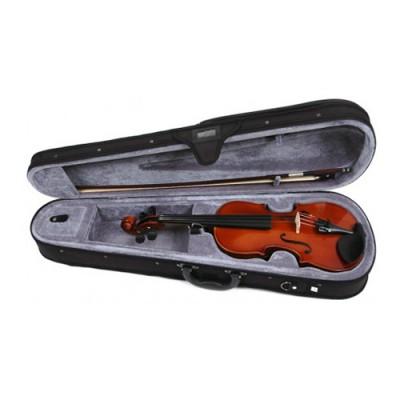 VALENCIA V160 1/2 - Скрипка 1/2, смычок, канифоль и чехол