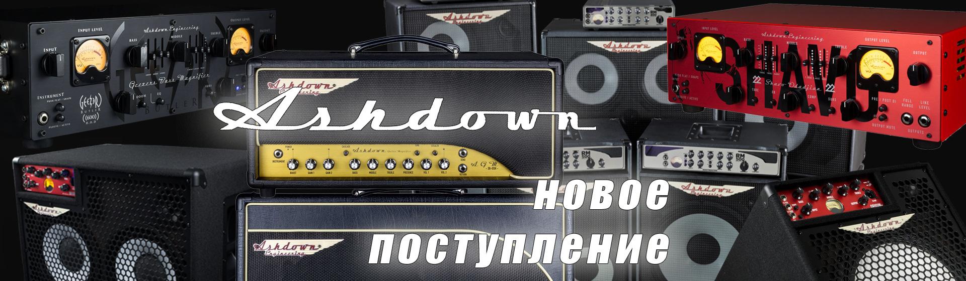 ASHDOWN - скоро новое поступление!
